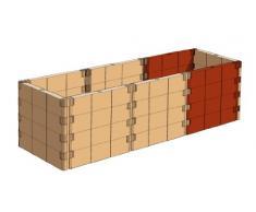 Juwel 20579 Extension pour carré Potager surélevé Profiline Couleur Basalte