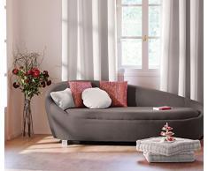 Coussin de sol garni - 50 x 50 cm - 100 % coton Noir