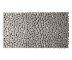 Gedy CO34750830 G-Sabbia Tapis de baignoire antidérapant Gris pierre 36 x 75 cm