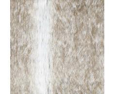 Coussin fausse fourrure Gris 40 x 40 cm Sibérie