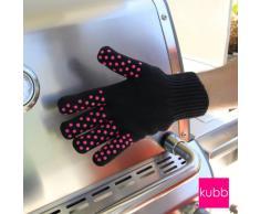 Kubb K044 Gant Anti-Chaleur Coton Noir