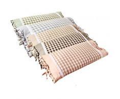Beddingsales Sarrasin Oreiller Lavé Coton Sarrasin Coquille Rempli Oreiller Dormir À La Maison Textile Accessoires