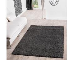 PHC Shaggy Tapis à longs poils Tapis Salon Prix Marteau de différentes couleurs, anthrazit, 160 x 220 cm