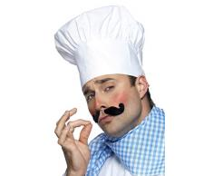 Smiffys Toque de chef, blanche