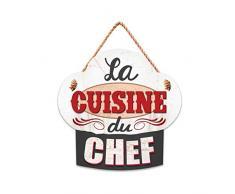 STC - Plaque Forme Toque à Suspendre en Bois – La Cuisine du Chef
