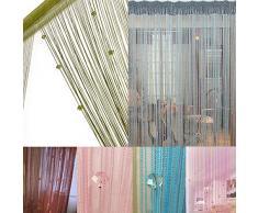 rideau fils acheter rideaux fils en ligne sur livingo. Black Bedroom Furniture Sets. Home Design Ideas