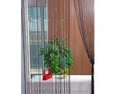 Rideau fils acheter rideaux fils en ligne sur livingo - Rideau de porte en perles transparentes ...