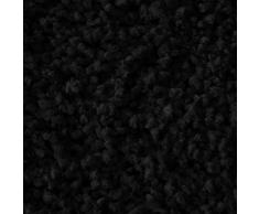 casa pura Tapis de Bain Antidérapant - Tapis de Douche | Tapis Salle de Bain, WC, Toilette, Sortie de Douche | Epais, Absorbant & Moelleux | Microfibre (Noir - 70x120 cm)