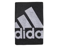 adidas Towel S Serviette de Plage Mixte Adulte, Black/White, FR Unique (Taille Fabricant : NS)