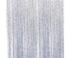 amazing savfy rideau porte fentre rideaux fils perles et paillettes panneau de sparation cm with. Black Bedroom Furniture Sets. Home Design Ideas