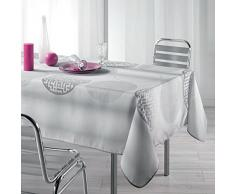 Nappe anti-tache - Rectangle - 150 x 240 cm - Kosmo - Gris