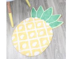 Tapis de bain ananas