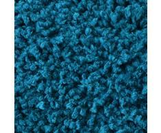 casa pura Tapis de Bain Antidérapant - Tapis de Douche | Tapis Salle de Bain, WC, Toilette, Sortie de Douche | Epais, Absorbant & Moelleux | Microfibre (Turquoise - 50x80 cm)