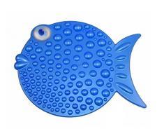 Outlook Design TROPICAL Tapis de douche antiglisse Bleu