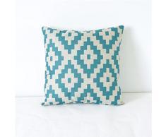 Coussin Vintage, Reaso Linen géométrique Throw Pillow Case Home Decor