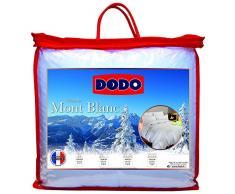 Dodo Couette Naturelle Mont Blanc Percale 70% Duvet dOie et de Canard 140 x 200 cm