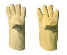 neoLab 8-4006 Paire de gants de protection anti-chaleur en aramide jusqu'à 350°C Longueur 40 cm