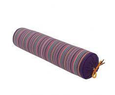 Zhaoke Oreiller Colonne vertebrale Remplissage Sarrasin Oreiller Amovible Anti Mal de Cou 40 * 9cm Violet