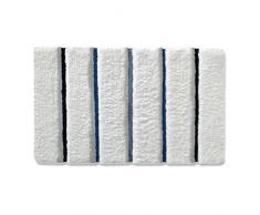 Tapis de bain casa pura® Bella Trend | ultra doux | tailles au choix | hauteur du poil env. 4,5cm | lavable - haute qualité | 60x100cm