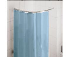 Kleine Wolke 3301101000 Barre de rideaux de douche en Métal Chrome 90 x 90 cm