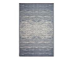 Fab Hab - Réversible intérieur / extérieur Météo Resistant Tapis de sol - Brooklyn Blue (90 cm x 150 cm)