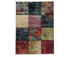 Unamourdetapis Tapis Grand Dimensions Carre Nacre Marron 80 x 150 cm Tapis de Salon Moderne Design
