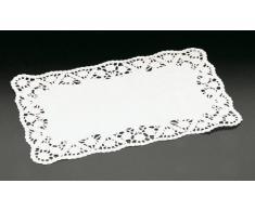 Metaltex 257765 Napperons Rectangulaire Blanc 15 Pièces