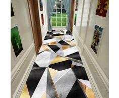 ZRUYI Tapis Couloir Tapis De Passage D'allée Impression En 3D Extra Long Moderne Ménage Tapis, Taille Personnalisable (Color : A, Size : 0.6x3m)