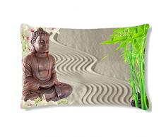 Coussin rectangulaire Ambiance Zen by Cbkreation
