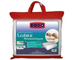 Dodo 60080.554 Oreiller Ergonomique Latex 55 cm x 40 cm