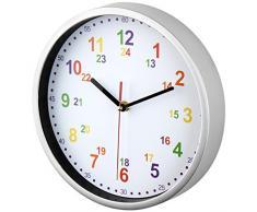 Horloge murale pour enfant - couleur blanche