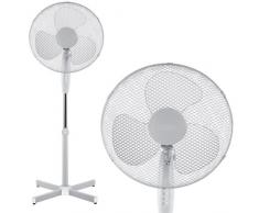 Babz - Ventilateur sur pied à roulettes blanc 41cm - 1 - Pack