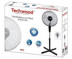 Techwood TVE-436 Ventilateur sur Pied 40 W 230 V 40cm