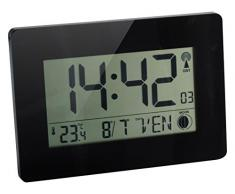 Orium 11094 Horloge RC Digitale Austin Plastique Noir 22.9x2.7x16.2 cm