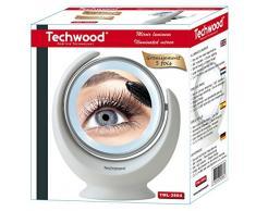 techwood TML-2864 Miroir Lumineux Grossissant