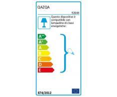 QAZQA Moderne Ventilateur de Plafond avec lumiere Fresh 30 noir Verre / Bois / Metal / Rond Compatible pour LED E14 Max. 1 x 60 Watt
