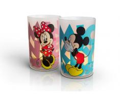 Philips CandleLights Disney Mickey et Minnie Lot de 2 Photophores Bougies LED