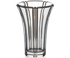 """Vase en verre,collection """"NADINE"""", 21,5 cm, transparent (GERMAN CRYSTAL powered by CRISTALICA)"""