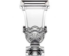 "Vase en verre,collection ""AKANTHUS"", 20cm, satin partielle (GERMAN CRYSTAL powered by CRISTALICA)"