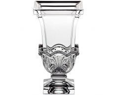 "Vase en verre,collection ""AKANTHUS"", 20cm, satin partielle (GERMAN CRYSTAL powered by CRISTALICA)"