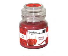 In Canto Bougie Pomme d'Amour Tentation Gourmande 130 g - Lot de 2