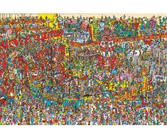 Où est Charly? Poster en bois, Multicolore