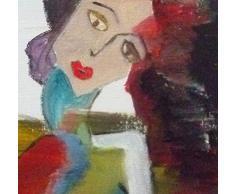 """Peinture acrylique Art. Toile, tableau décoration. """"Candor in the wind""""."""
