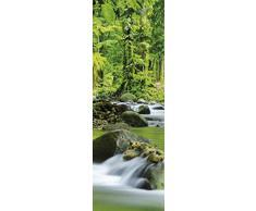 Posters: Forêts Poster Reproduction - Fleuve De Montagne Magique (91 x 30 cm)
