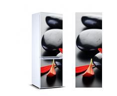 /Étiquette Adh/ésive D/écorative dune conception /él/égante| Stickers Autocollants Frigo Distributeur automatique de coca cola noir Mesure 185 x 60 cm Vinyle Adh/ésif R/ésistant et facile dappliquer