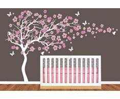 Stickers arbre la d coration facile livingo for Autocollant mural walmart