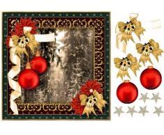 Quiet Snow Storm Cimier de sapin de Noël 1 par Mary Jane Harris