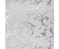 Papier peint baroque acheter papiers peints baroques en ligne sur livingo - Papier peint noir et argent ...