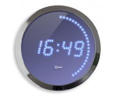 Orium Horloge LED Bleu 30 cm