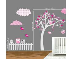 Stickers Arbre Blanc. Great Stickers Arbre Dans La Chambre ...